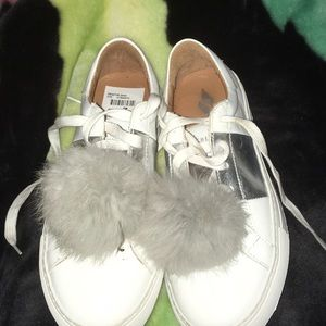 skecher fluff ball shoes